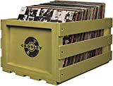 Best Crosley Vinyl Albums - Crosley AC1004A-SG Record Storage Crate Holds up to Review