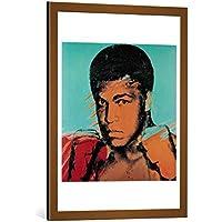 Quadro con cornice: Andy Warhol