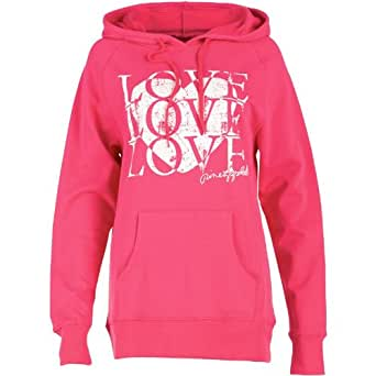 Pineapple Womens Love Hoody Blush - S UK 8-10 To Fit Bust 34 Euro 34