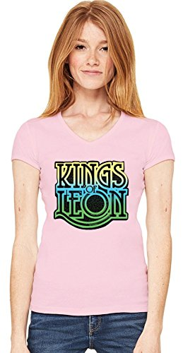 Kings Of Leon Womens V-neck T-shirt
