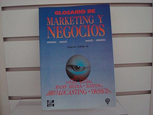 Descargar Libro Glosario de Marketing y Negocios de M. Torres