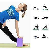 1Pc Yoga Blocks Yoga Blöcke - High-Density-EVA-Schaum Brick bietet Stabilität Balance und Unterstützung, Kraft zu verbessern und vertiefen Posen - ideal für Yoga, Pilates, Workout, Fitness Gym preisvergleich bei fajdalomcsillapitas.eu