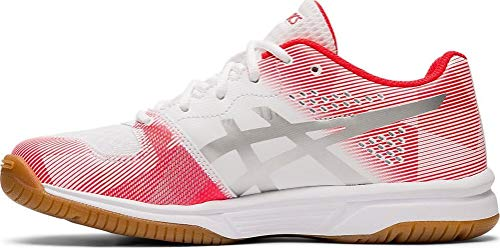 ASICS Gel-Tactic GS, Sneaker Unisex-Bambini, Multicolore (White/Silver 101), 36 EU