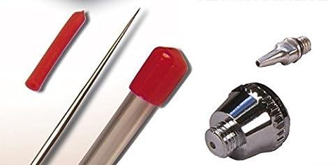 AA022 - Aiguille et buse de 0,2mm pour Aérographe Prince-August
