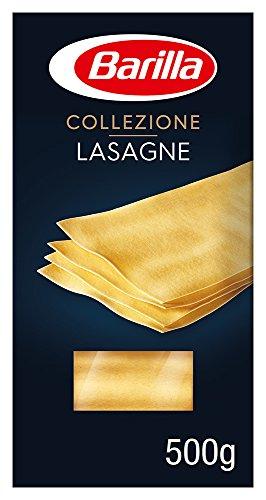 Barilla Hartweizen Pasta Collezione Lasagne – 1er Pack (1x500g)