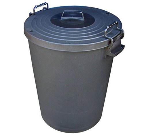 extra-large-110l-litre-black-plastic-rodent-proof-animal-feed-food-storage-bin