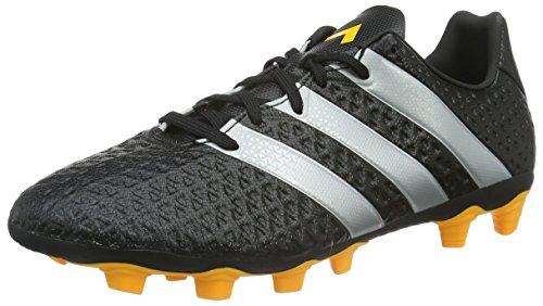 adidas Herren Ace 16.4 FxG Fußballschuhe Schwarz (Core Black/Silver Met./Solar Gold) 44 EU - Sleeve Core Raglan