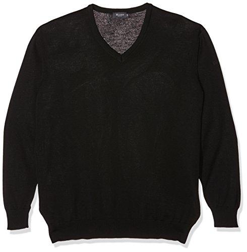 Maerz Herren 490490 Pullover, Schwarz (Black 595), XXXXX-Large (Herstellergröße: 62)