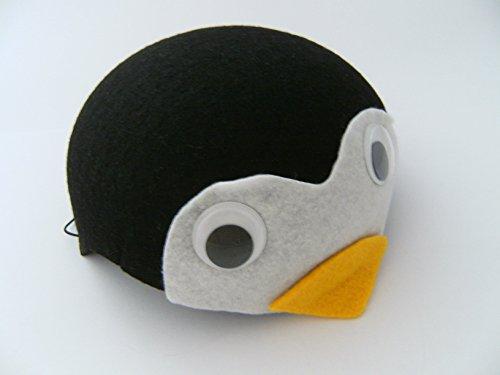 Ravensden Pinguin Hut f. Kindergeburtstag Karneval Fasching Pinguine Tier Tiere Hüte Filz Mütze Kappe Maske Theater