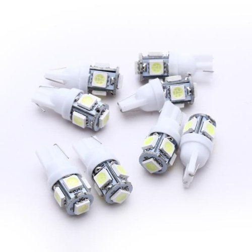 TOOGOO - Juego de 8 Bombillas LED para Luz de coche trasera...