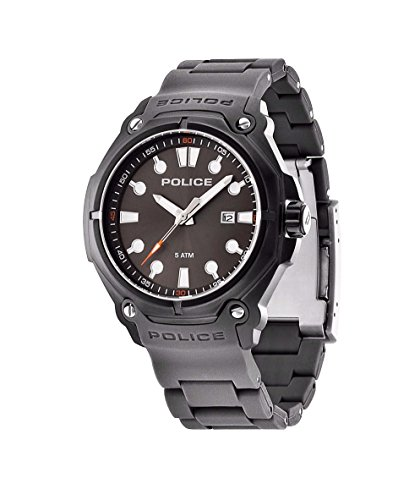 Police Herren-Armbanduhr Analog Quarz Plastik PL.13939JSB/61