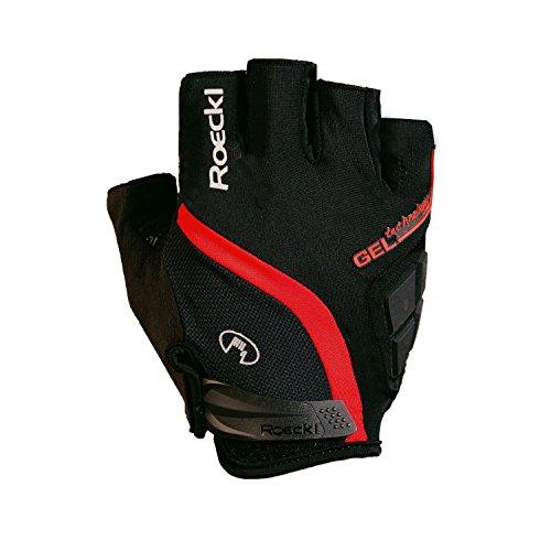 d Handschuhe kurz schwarz/rot 2015: Größe: 6.5 (Kurze Rote Handschuhe)