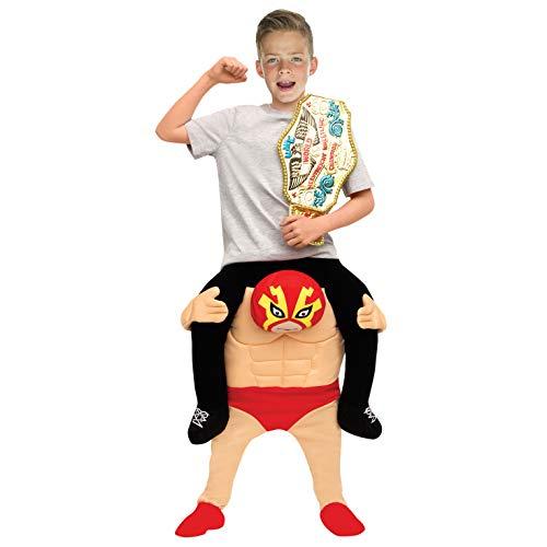 Morph Kinder Ringer Huckepack Kostüm Lustige Fahrt auf Täuschung Tragen Mich - Tragen Ein Kostüm