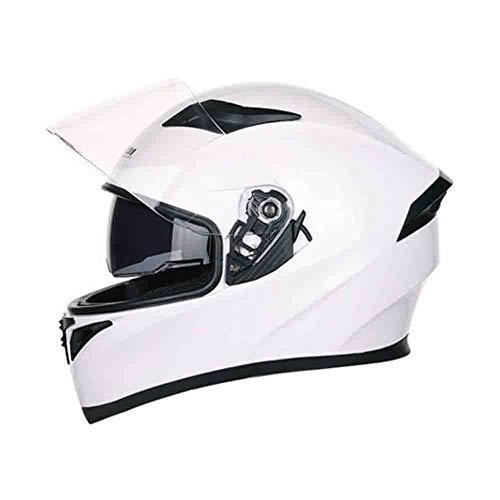 Casco moto off road off-road full face locomotiva da donna doppia lente antiappannamento caschi moto caschi moto cool con protezioni motocross cintura di sicurezz