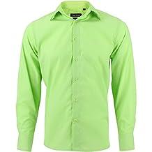 cheap for discount 37df0 e2e28 Amazon.it: camicia uomo elegante - Verde