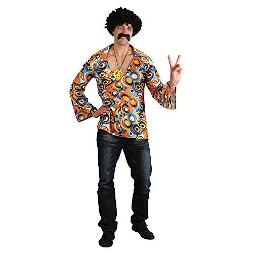 e Shirt Mens Fancy Dress (60s 70s Fancy Dress Kostüme)