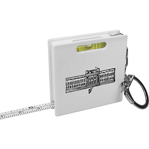 Azeeda 'Buckingham Palace' Schlüsselring-Maßband / Wasserwaage (KM00002608)