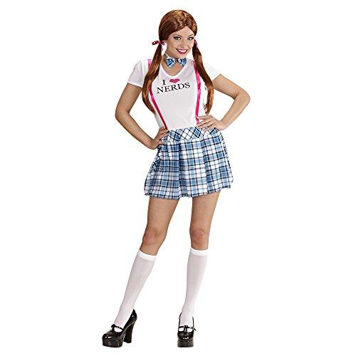 Widmann 76091 - Kostüm College Minikleid, Größe S