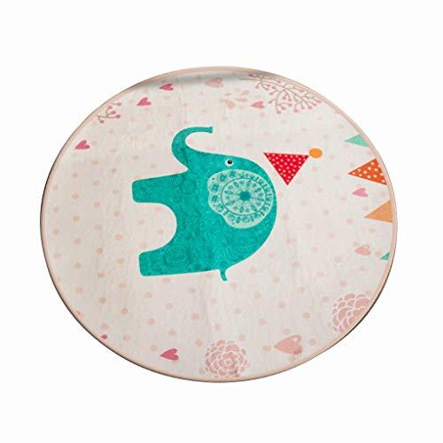 arpet Computer Stuhl Swivel Pad Schöne runde Teppich Schlafzimmer Nacht Teppich Teppich (Farbe: # 4, Größe: Durchmesser 120CM) ()