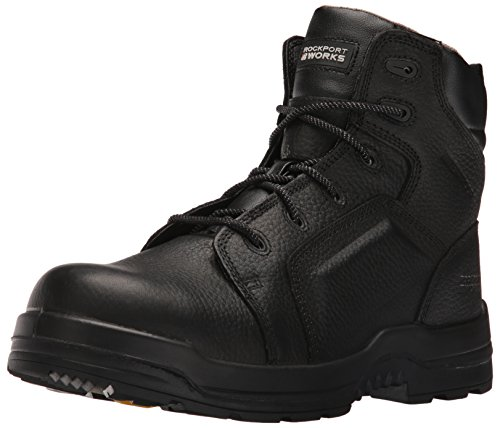 Rockport Work Men's Trail Technique Mid RK6671 Zapato industrial y de construcci¨®n, marr¨®n, 7 M US