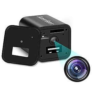 camara espia usb: Cámaras Ocultas del Cargador de la Pared del USB de 1080P HD, Enchufe del Adapta...