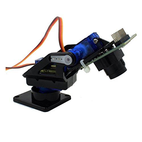 Jasmin FS Entwicklungs-Board 2-Achs FPV Kamera Cradle Head + OV7670 Kamera Set für Roboter/R/C Auto - Schwarz + Blau