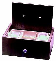 Godrej Cash Box and CnTry Brn Mechanical Safe (Brown)