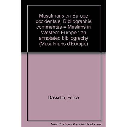 Musulmans en Europe occidentale : Bibliographie commentée