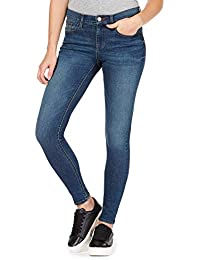 1aa9de441ebbd2 Red Herring Womens Blue 'Holly' Supersoft Ultra-Stretch Skinny Jeans