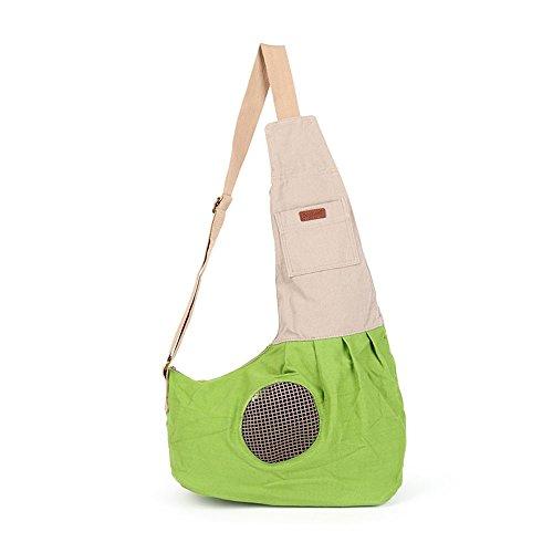 ox für kleine Hunde und Katzen, langlebigem Segeltuch Hund Tasche mit atmungsaktives Air Mesh (Nehmen Sie Ihre Canvas Taschen)