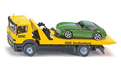 wagen, 1:55, Metall/Kunststoff, Gelb, ADAC-Optik, Inkl. abzuschleppendem Spielzeugauto ()