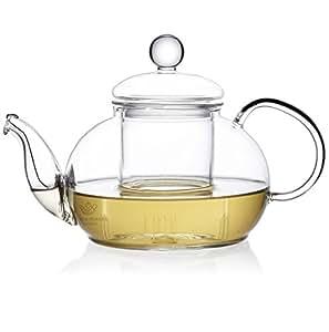 The Tea Makers of London Théière en verre avec infuseur en verre 600ml