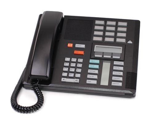 Nortel Norstar 9 ft. Black Handset Cord For M7100, M7208, M7310, M7324 Phone by Norstar Nortel Norstar M7310