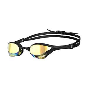 Arena Cobra ULTRA Mirror Schwimmbrille Erwachsene, Unisex, Gelb (Yellow Revo), Einheitsgröße