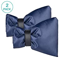 Uiter Outdoor Faucet Cover Winter Faucet Cover for Freeze Protection, Set of 2(Navy blue