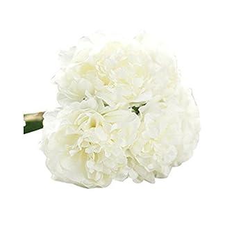 gzzebo 5 Cabezas de Flores de peonía Artificial Nupcial hortensias jardín de la casa Fiesta de la Boda decoración de la Foto Accesorios de Fotos