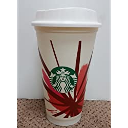 Starbucks Mug de voyage réutilisable Blanc/Tasse/gobelet Grande Taille M 473 ml (16 oz
