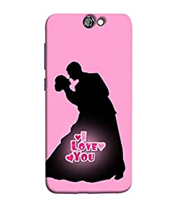 HTC One A9 Back Cover Wedding Card Bride And Groom Design From FUSON
