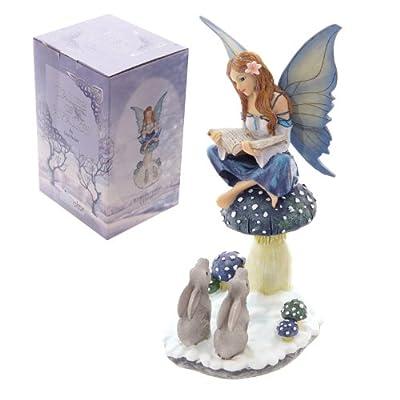 Puckator FYP114 Lisa Parker Tales of Avalon Snow Fairy Winter Storyteller 14 x 12 x 25cm