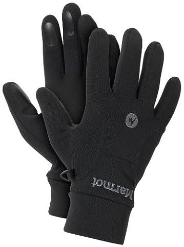 Marmot Men's Power Stretch Gloves - Black, Large