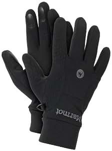 Marmot Herren Handschuhe Power Stretch Glove, Black, S, 15580-001-3