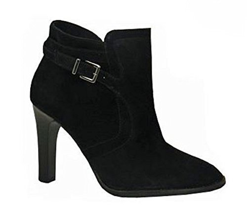 Kaja Ankle Boot Blk Suede