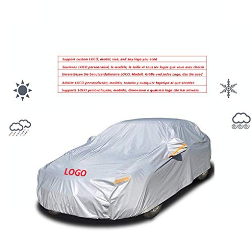 Copertura Auto Car Cover, Compatibile con Maserati Levante, Esterna Impermeabile di Protezione UV all Weather Anti-Neve e Antivento AntiGraffio Coperchio