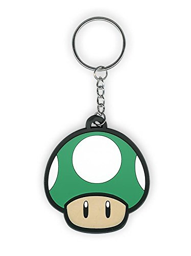 Nintendo Schlüsselanhänger Pilz 1 Up