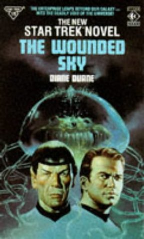 Cover of The Wounded Sky (Star Trek)