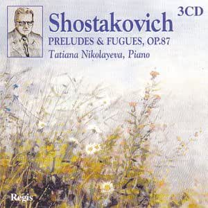 Shostakovich Complete Preludes & Fugues Op87 3CDs