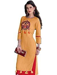 Dhruvi Trendz Women's Clothing Kurti For Women Latest Design Party Wear Collection (DT-K2048)