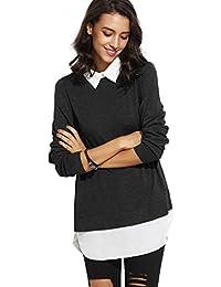 Suchergebnis auf für: pullover mit bluseneinsatz