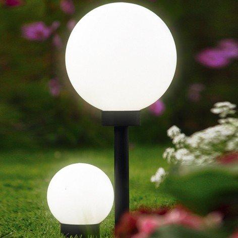 BREMA 123.139 Lampadaire Globe Solaire de Jardin 25 x 50 cm