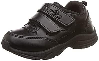 Liberty Unisex's Black Formal Shoes-7 Kids UK/India (24 EU) (01Gola)